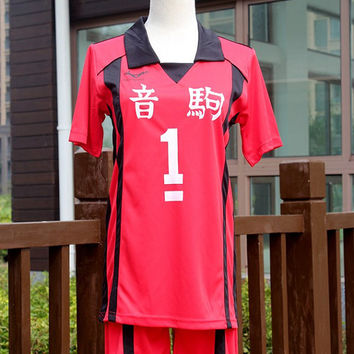 Haikyuu Nekoma High School Uniform Jersey No.1 Kuroo tetsurou Cosplay costume