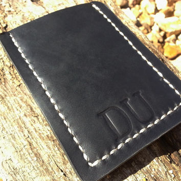 Mens Leather Wallet Slim Classic Card Case