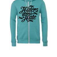 Haters Gonna Hate this - Unisex Full-Zip Hooded Sweatshirt