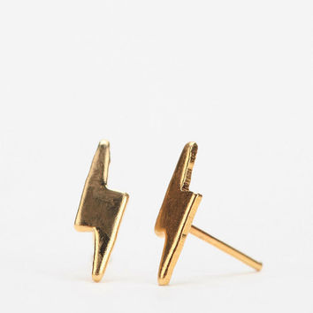 Urban Outfitters - Urban Renewal Lightning Bolt Stud Earring