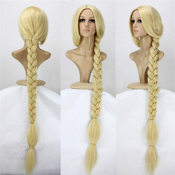 47 inches Blonde Rapunzel Wig