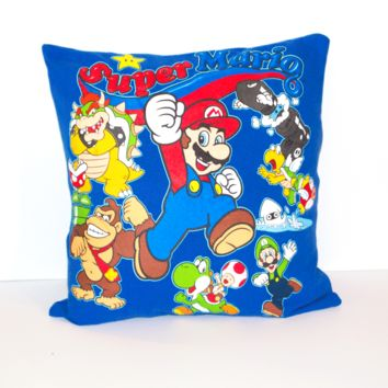 Super Mario Pillow