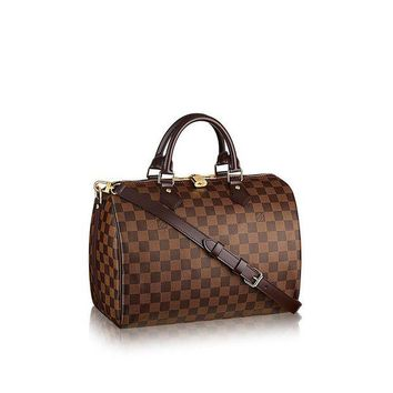 DCK4S2 Louis Vuitton Damier Ebene Canvas Speedy Bandouliere 30 N41367