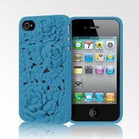Blossom Case for iPhone 4/4S - Blue