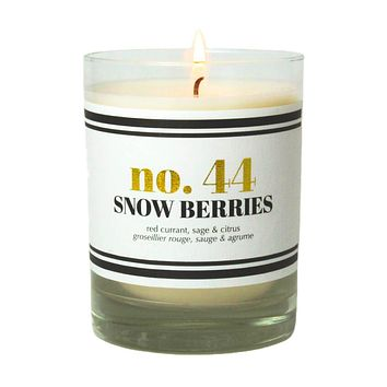 No. 44 Snow Berries Scented Soy Candle