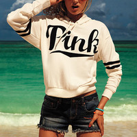 Cut-off Denim Shorts - PINK - Victoria's Secret
