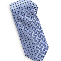 Roundtree & Yorke Big & Tall Diamond Neat Tie