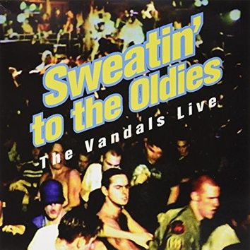 VANDALS - Sweatin To The Oldies Clear W/Black Splatter/Dl Code  Rsd