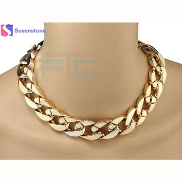 Super Cool Big Chunky Snake Chain Necklace