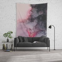 Kiss Goodbye Wall Tapestry by duckyb