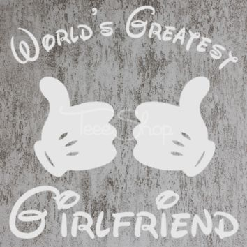 World's Greatest Girlfriend Tshirt