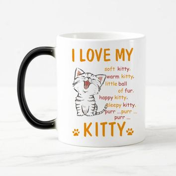 Cat Change Color Tea/Coffee Mug