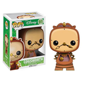 Beauty and the Beast Cogsworth Pop! Vinyl Figure : Forbidden Planet