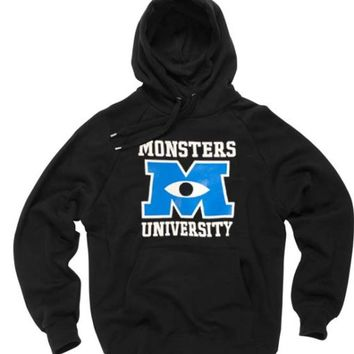 Monster university black Hoodies