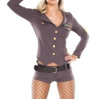 GREY GENERAL COSTUME @ Amiclubwear costume Online Store,sexy costume,women's costume,christmas costumes,adult christmas costumes,santa claus costumes,fancy dress costumes,halloween costumes,halloween costume ideas,pirate costume,dance costume,costumes fo