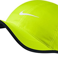 Nike Mens Feather Lite 2.0 Adjustable Hat Volt/Black 679421-435
