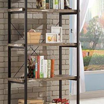Home Furnishings Coaster 801552 Bookcase, Skelton Collection