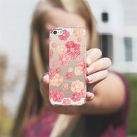 Blossoms - Transparent/Clear background iPhone 5s case by Lisa Argyropoulos | Casetagram