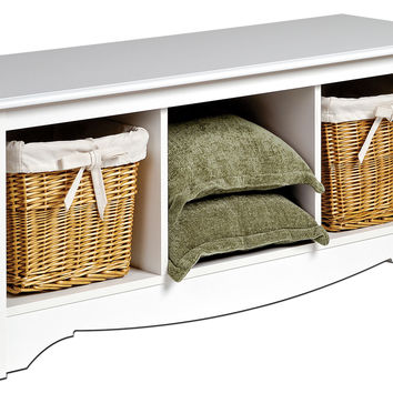 Prepac Monterey Storage Bedroom Bench
