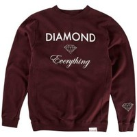 Diamond Supply Co Diamond Everything Crew Sweatshirt - Men's at CCS