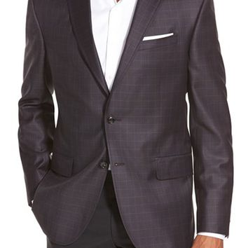 Ted Baker London 'Jay' Trim Fit Check Sport Coat,