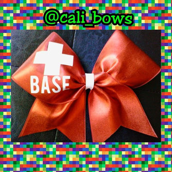 Lifesaver Base Cheer Bow