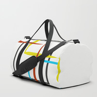 Nine Squared Duffle Bag by David Darcy