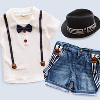 3pc Hat Shirt & Shorts Set