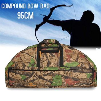 High Quality Bow & Arrow Hunting Shooting Bags Holder Compound Bow Bag Waterproof Canvas Large Capacity Portable Wear-resistant