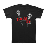Alkaline Trio Men's  Daggers T-shirt Black Rockabilia