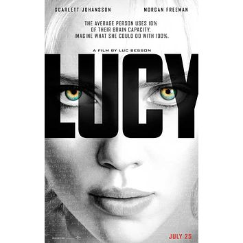 Lucy 27x40 Movie Poster (2014)