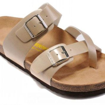 Birkenstock Mayari Sandals Artificial Leather Bisque - Ready Stock