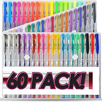 Top Quality Gel Pens (Pack of 60)