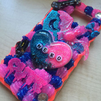 Custom Decoden Phone Case - Kawaii Phone Case - Sweets Deco Phone Case