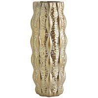 Gold Luster Texture Vase