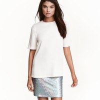 H&M Sequined Skirt $34.99