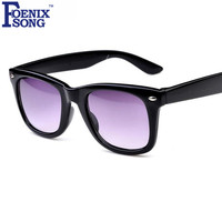 FOENIXSONG 2017 Brand New Kids Sunglasses Gafas Oculos de sol Multi Frames Retro Children Sun Glasses Black Pink Eyewear SK888
