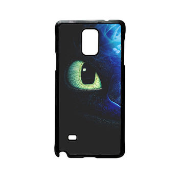 One Eyes Night Furry How Do You Train The Dragon For Samsung Galaxy Note 2/Note 3/Note 4/Note 5/Note Edge Phone case ZG