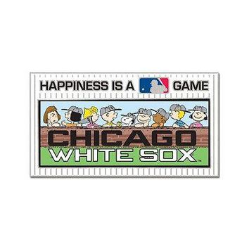 CHICAGO WHITE SOX PEANUTS GANG HAPPINESS IS A GAME COLLECTOR PIN NEW WINCRAFT