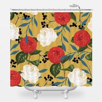 Floral Obsession Shower Curtain