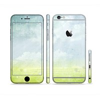 The Water-Color Painting of Meadow Sectioned Skin Series for the Apple iPhone 6