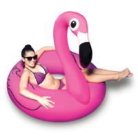 BIG MOUTH PINK FLAMINGO POOL FLOAT