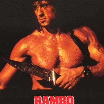 Rambo III 1988 Movie Poster 21x28