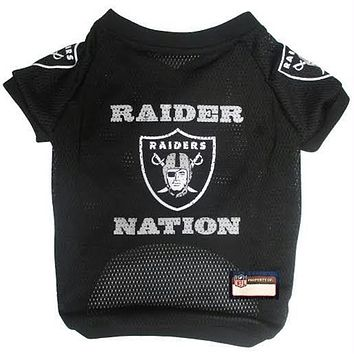 Oakland Raider Nation Pet Jersey