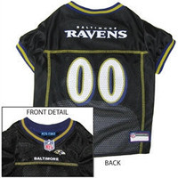 Dog Apparel - Baltimore Ravens NFL Dog Jersey (Sizes:XS-L)