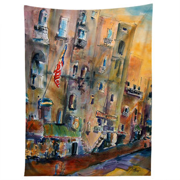 Ginette Fine Art Savannah River Streets Tapestry