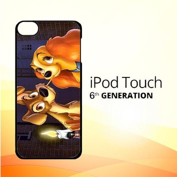 LADY AND TRAMP DISNEY Z1223 iPod Touch 6 Case