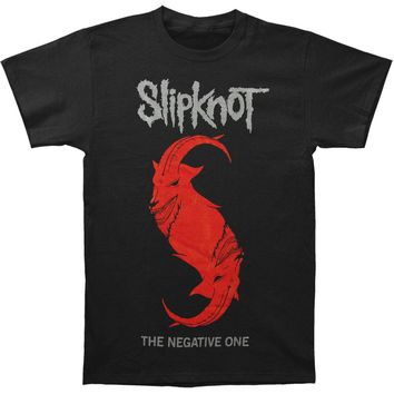 Slipknot Men's  The Negative One T-shirt Black Rockabilia