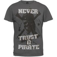 Pirates Of The Caribbean - Never Trust Soft T-Shirt