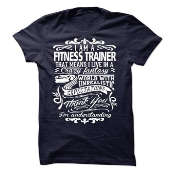 i am a FITNESS TRAINER. T